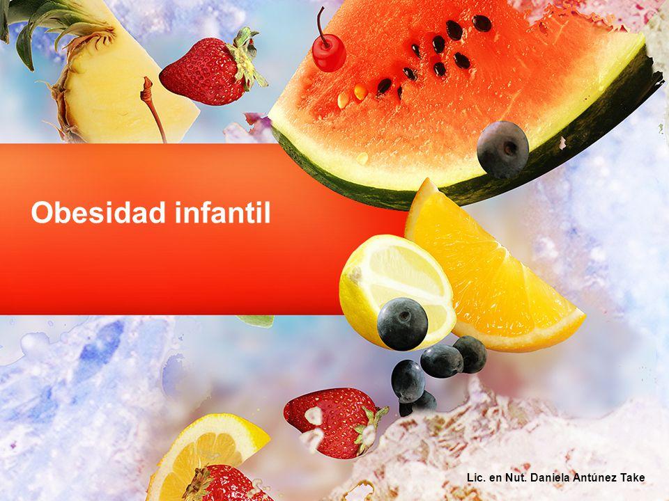 Obesidad infantil Lic. en Nut. Daniela Antúnez Take