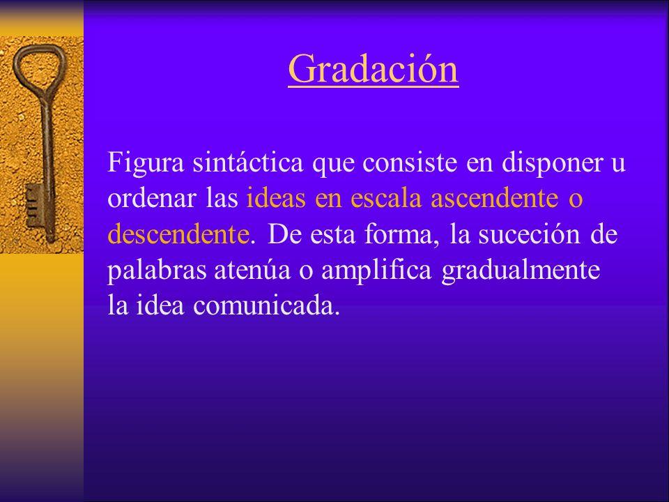 Gradación