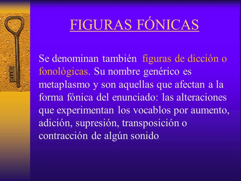 FIGURAS FÓNICAS