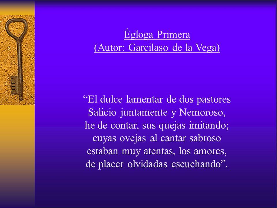 (Autor: Garcilaso de la Vega)