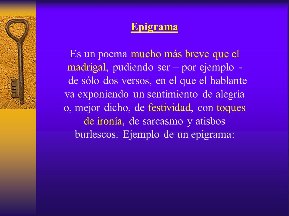 Epigrama