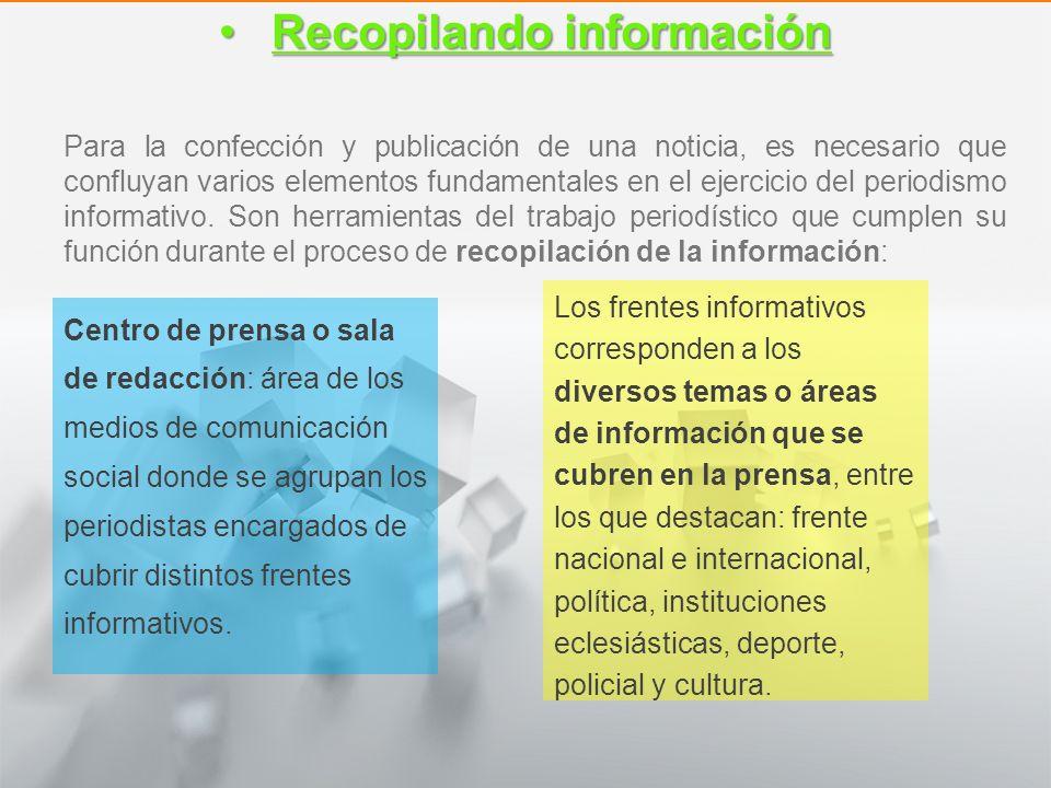 Recopilando información
