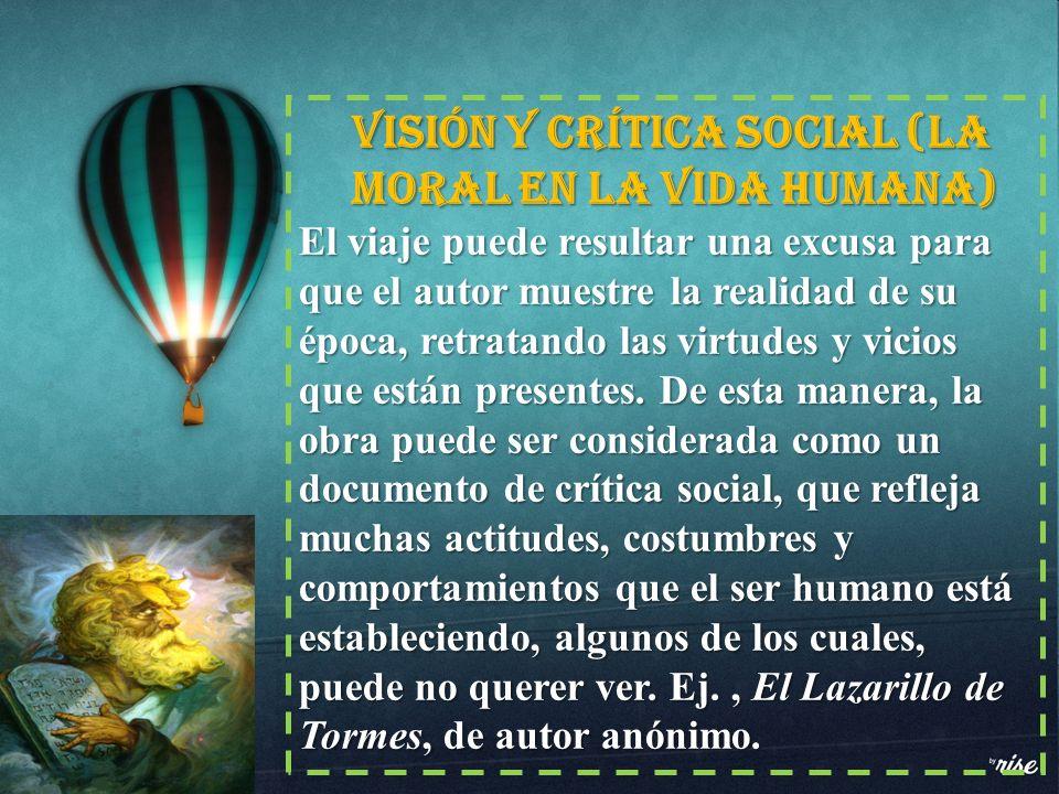 Visión y crítica social (la moral en la vida humana)