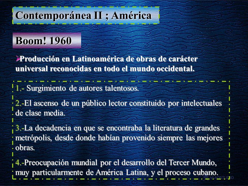 Contemporánea II ; América