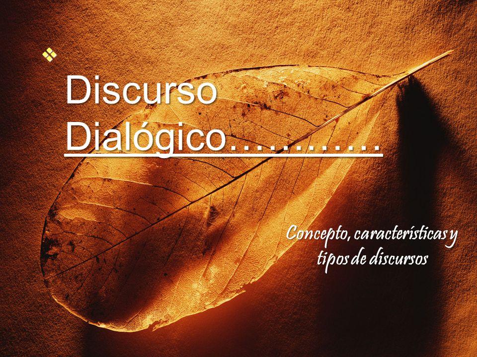 Discurso Dialógico…………