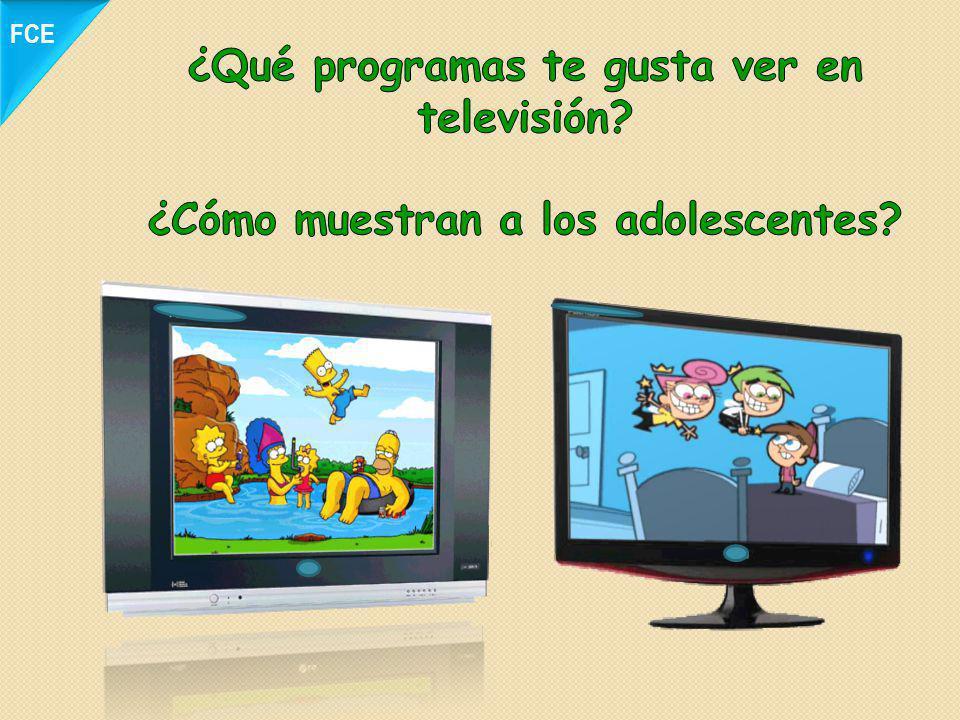 ¿Qué programas te gusta ver en televisión