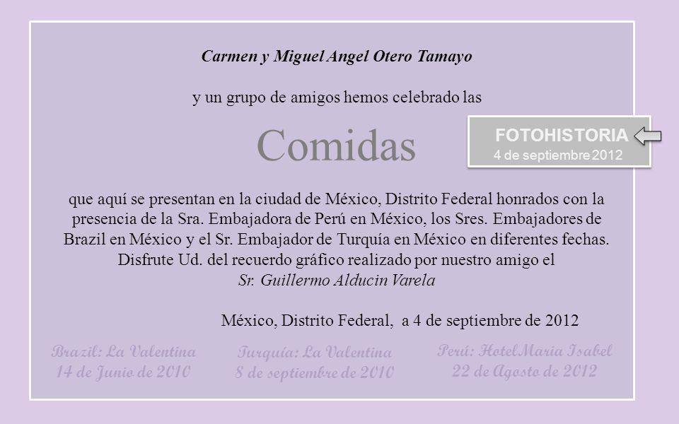 Carmen y Miguel Angel Otero Tamayo