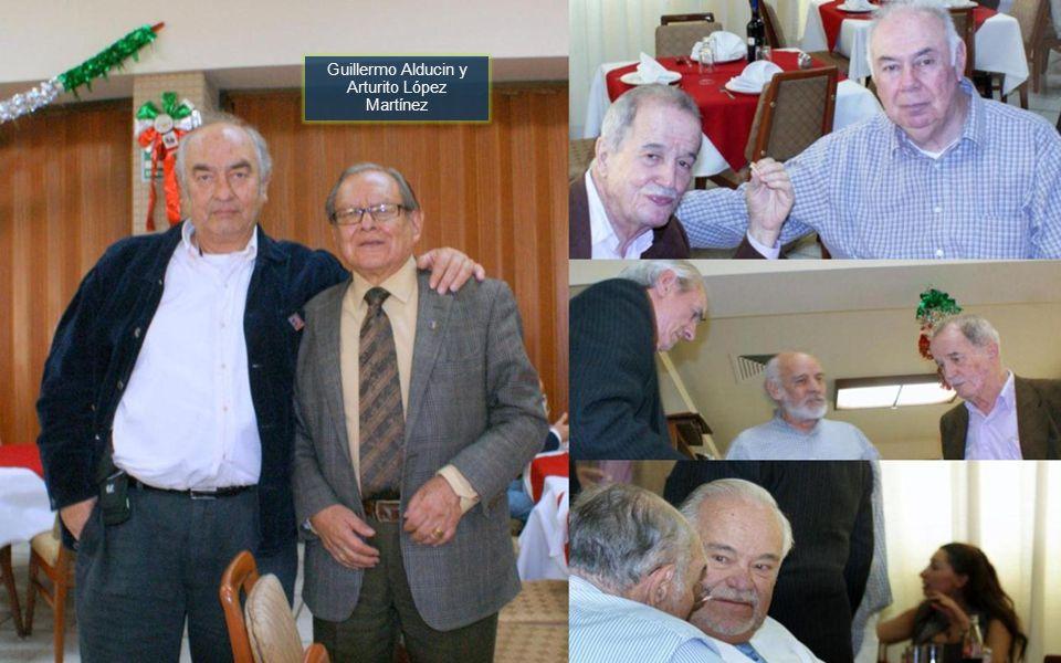Guillermo Alducin y Arturito López Martínez