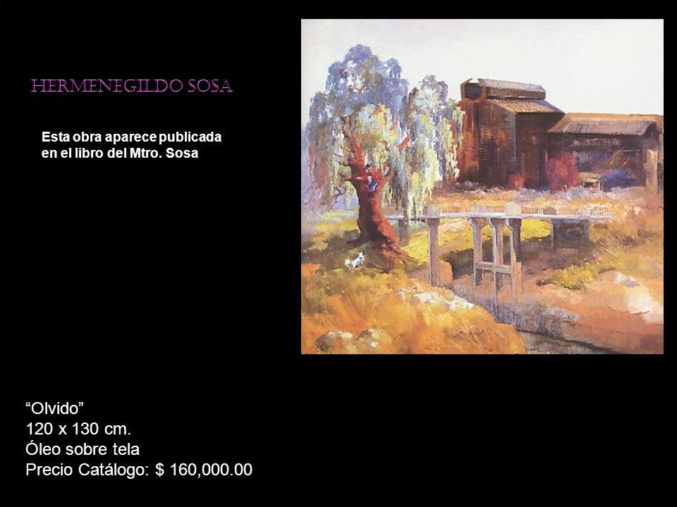 Olvido 120 x 130 cm. Óleo sobre tela Precio Catálogo: $ 160,000.00
