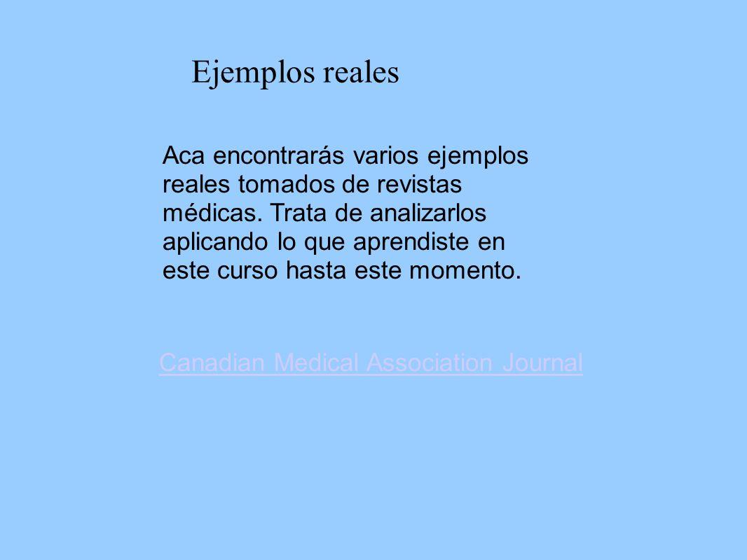 Ejemplos reales