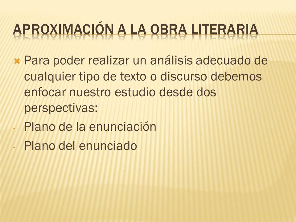 Aproximación a la obra literaria