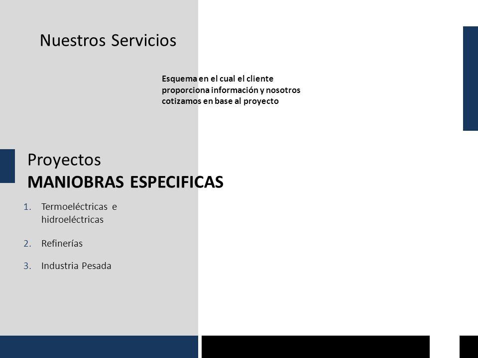 MANIOBRAS ESPECIFICAS