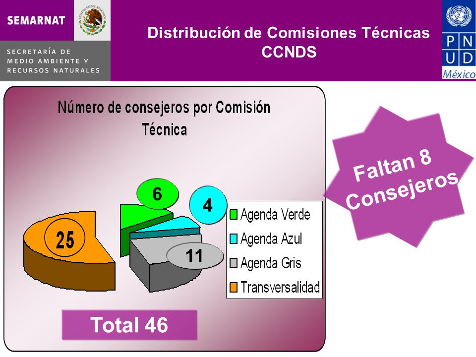 Distribución de Comisiones Técnicas CCNDS
