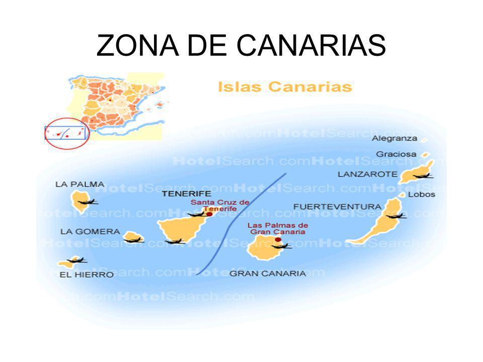 ZONA DE CANARIAS