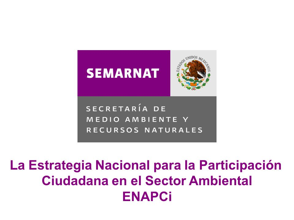 La Estrategia Nacional para la Participación
