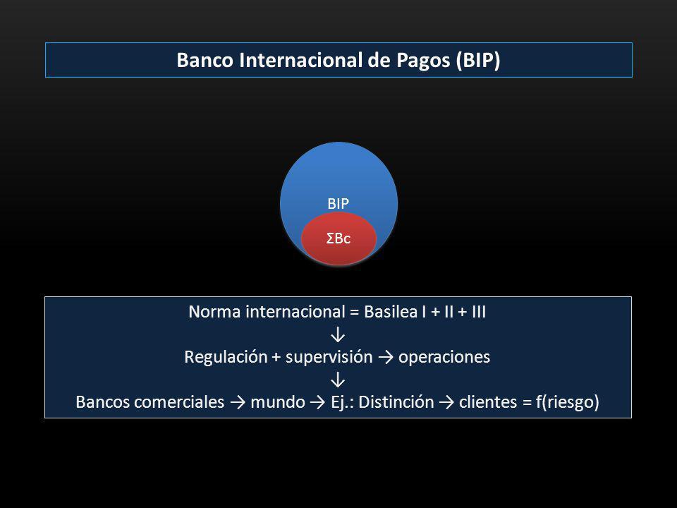 Banco Internacional de Pagos (BIP)
