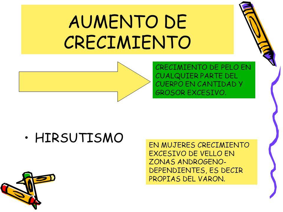 AUMENTO DE CRECIMIENTO