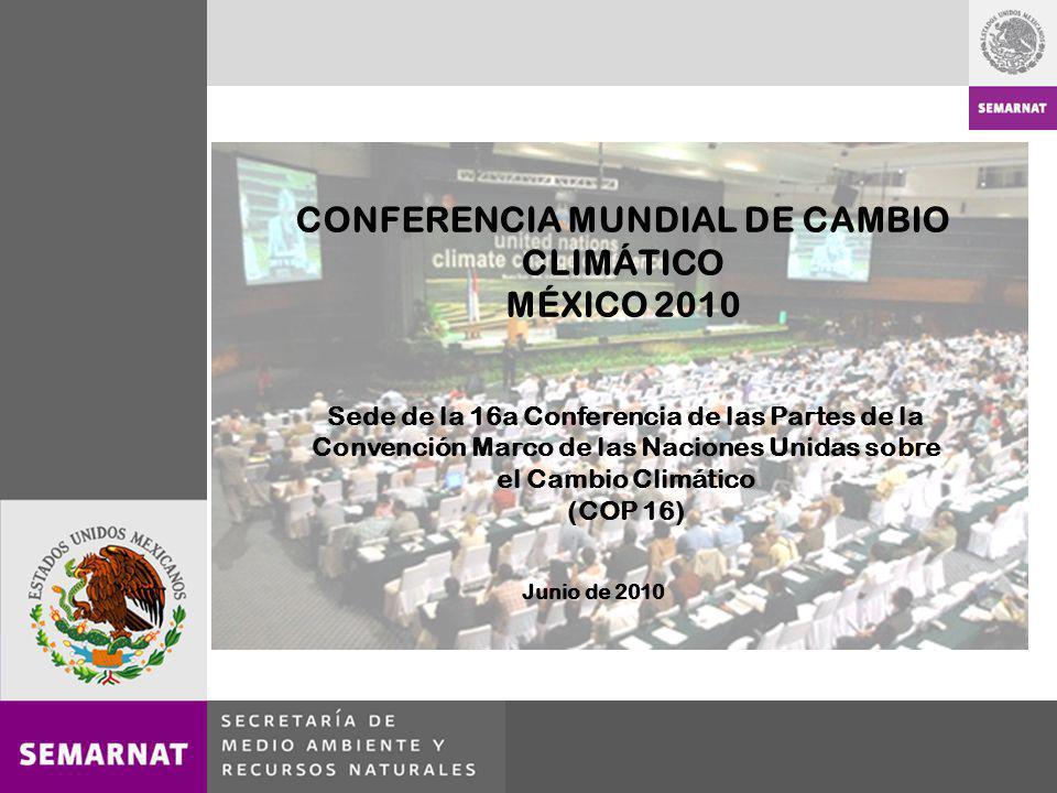 CONFERENCIA MUNDIAL DE CAMBIO CLIMÁTICO