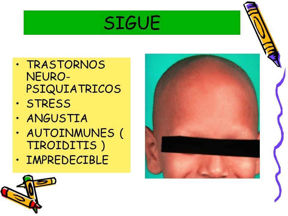 SIGUE TRASTORNOS NEURO-PSIQUIATRICOS STRESS ANGUSTIA