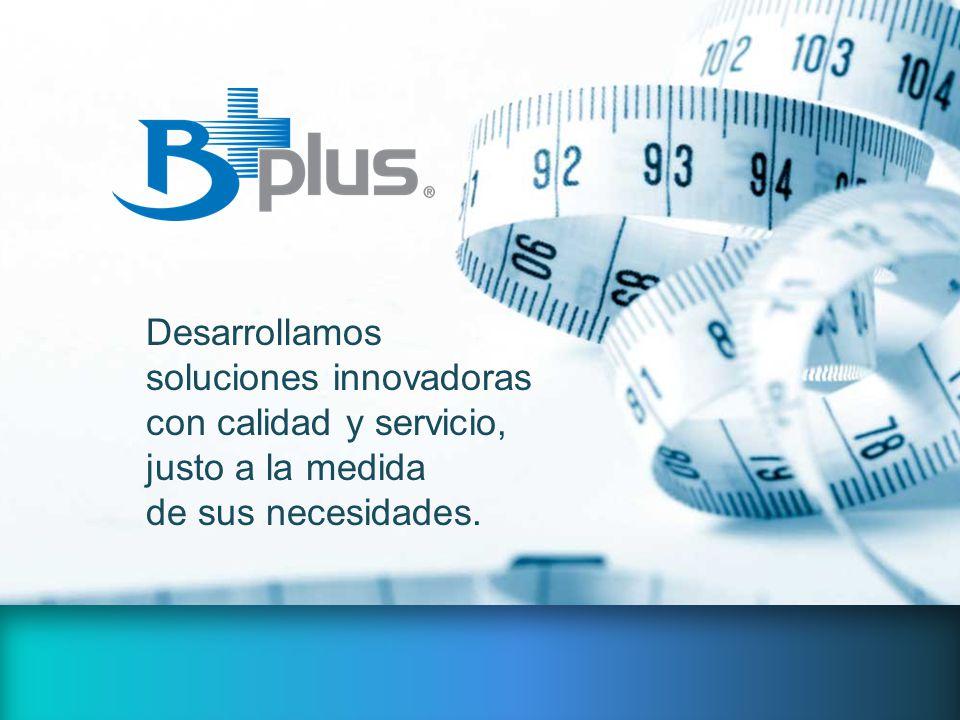 Desarrollamos soluciones innovadoras con calidad y servicio, justo a la medida de sus necesidades.