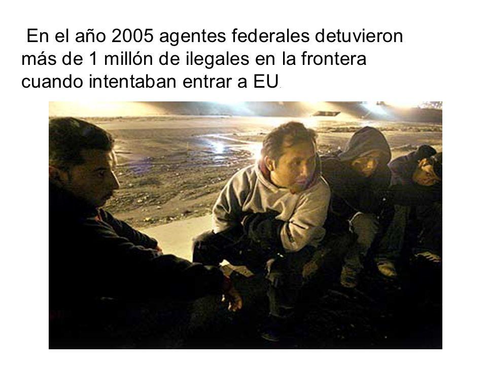 En el año 2005 agentes federales detuvieron