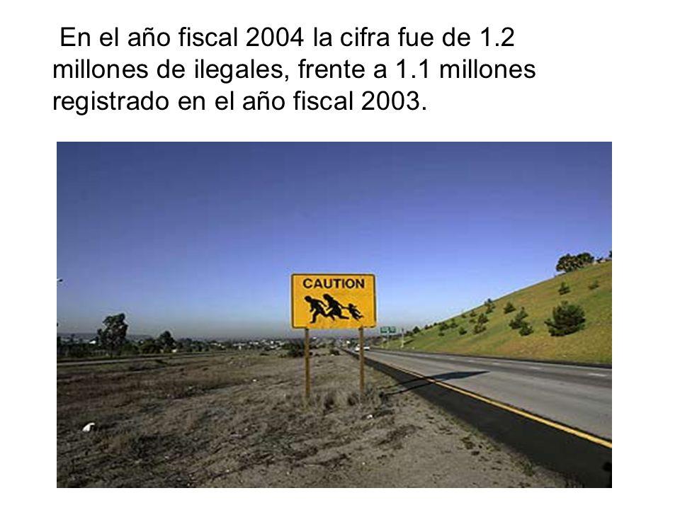 En el año fiscal 2004 la cifra fue de 1
