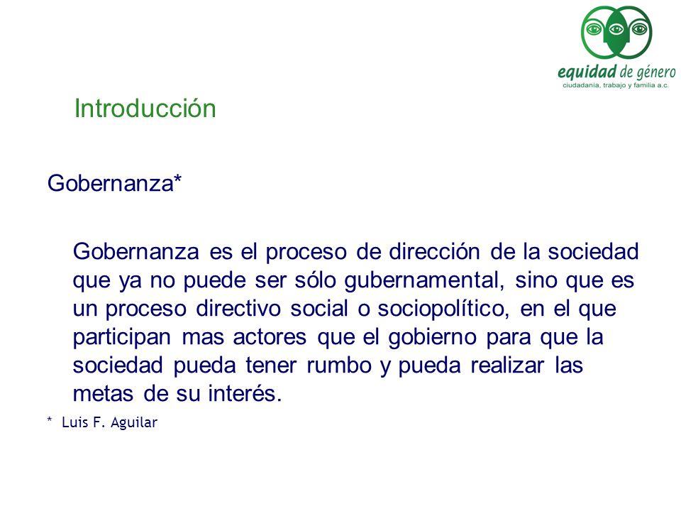 Introducción Gobernanza*