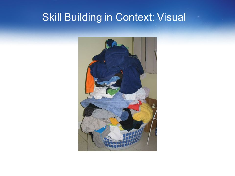 Skill Building in Context: Visual