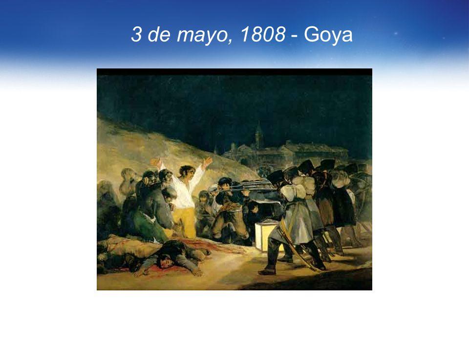 3 de mayo, 1808 - Goya