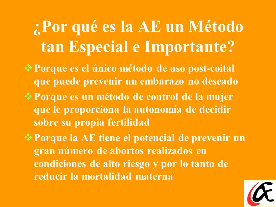 ¿Por qué es la AE un Método tan Especial e Importante