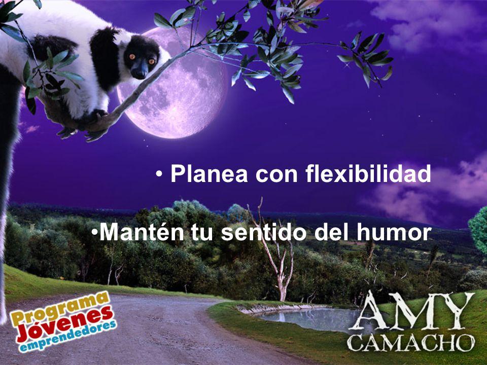 Planea con flexibilidad