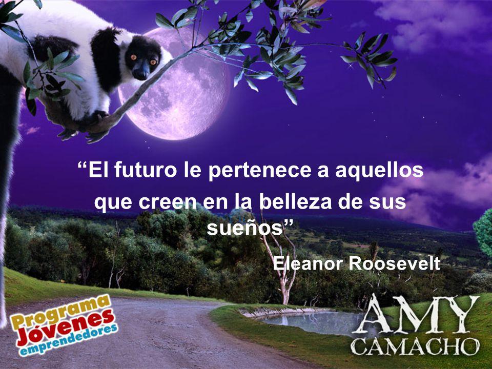 Eleanor Roosevelt El futuro le pertenece a aquellos
