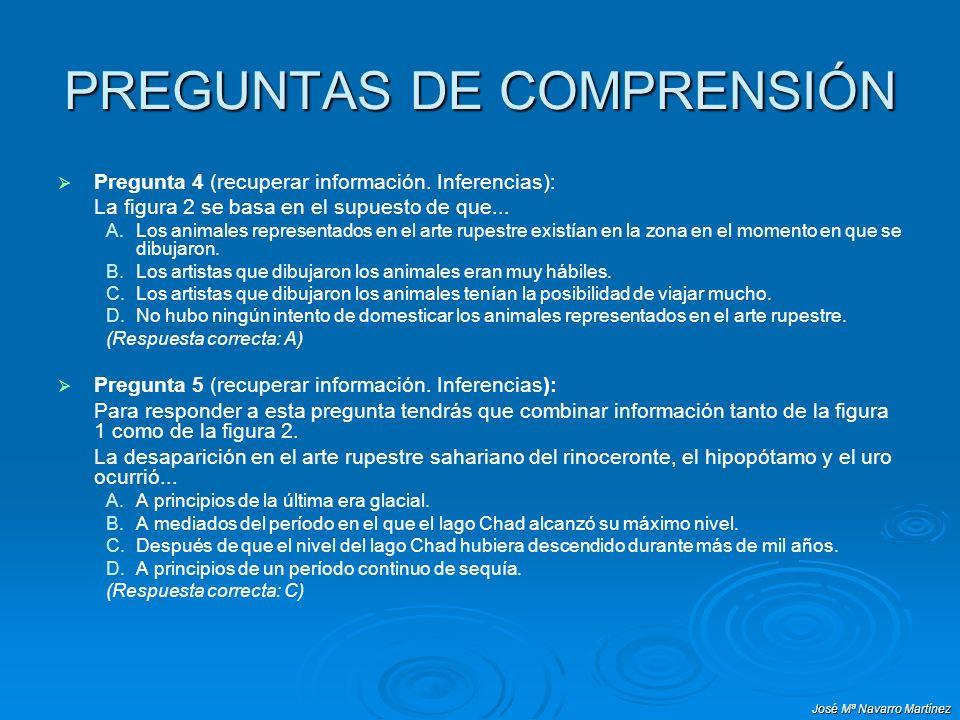 PREGUNTAS DE COMPRENSIÓN