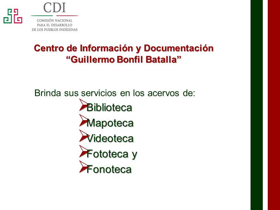 Centro de Información y Documentación Guillermo Bonfil Batalla