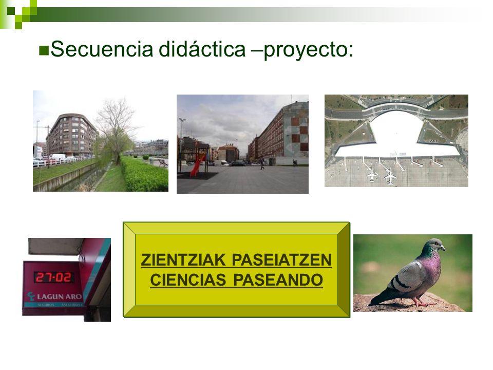 Secuencia didáctica –proyecto: