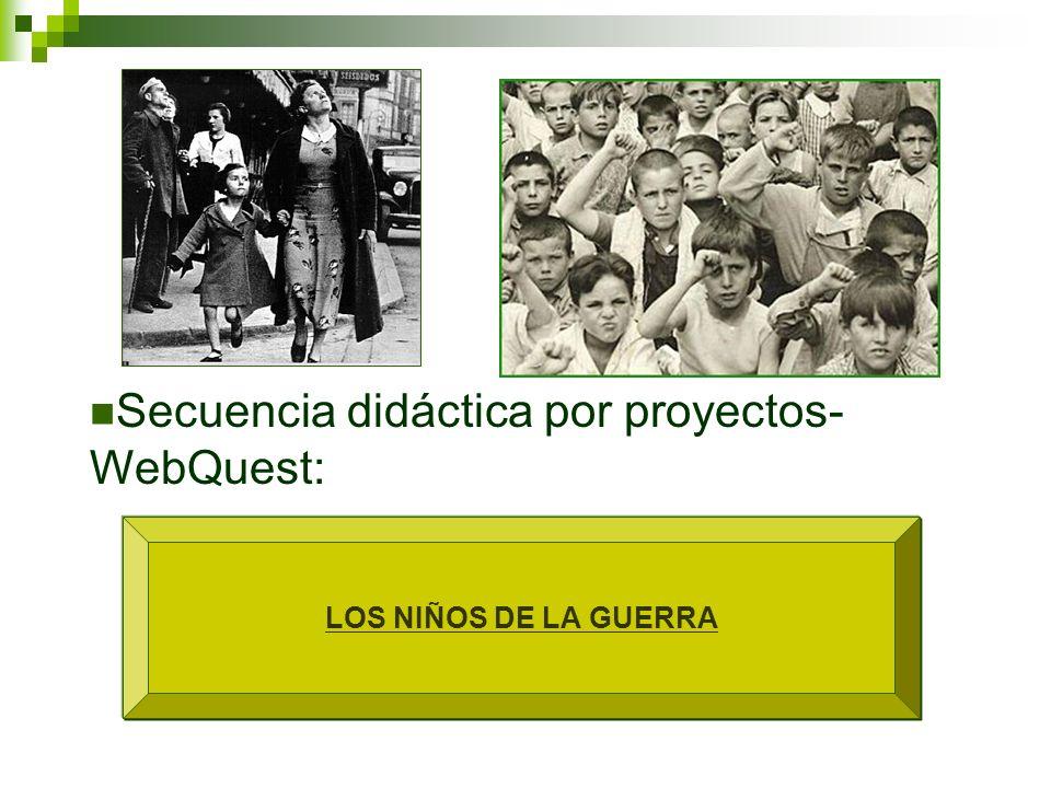 Secuencia didáctica por proyectos-WebQuest: