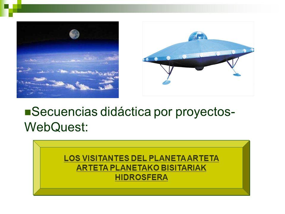 LOS VISITANTES DEL PLANETA ARTETA ARTETA PLANETAKO BISITARIAK