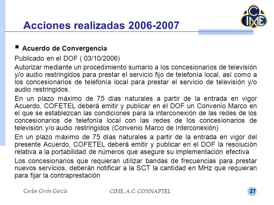 Acuerdo de Convergencia