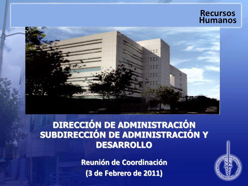 Reunión de Coordinación (3 de Febrero de 2011)