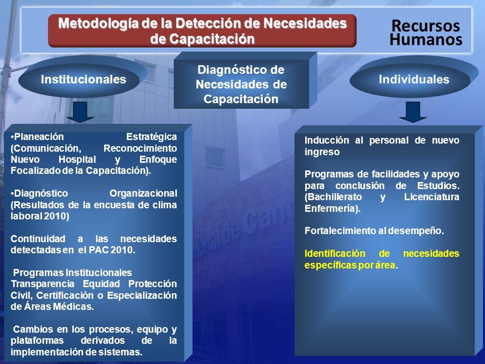 Metodología de la Detección de Necesidades de Capacitación