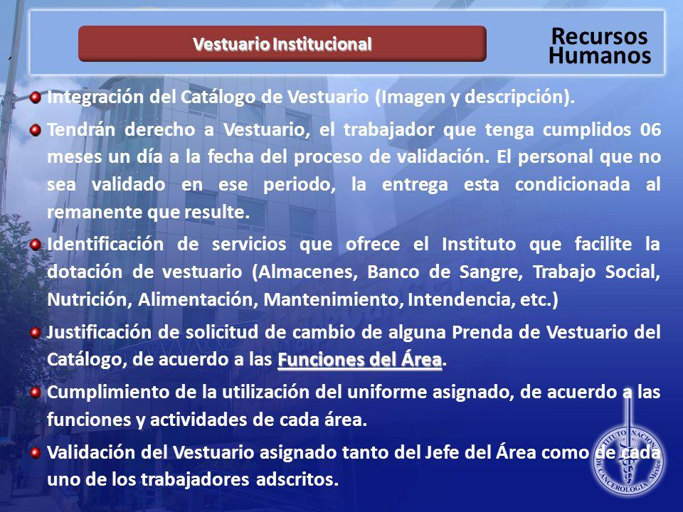 Vestuario Institucional