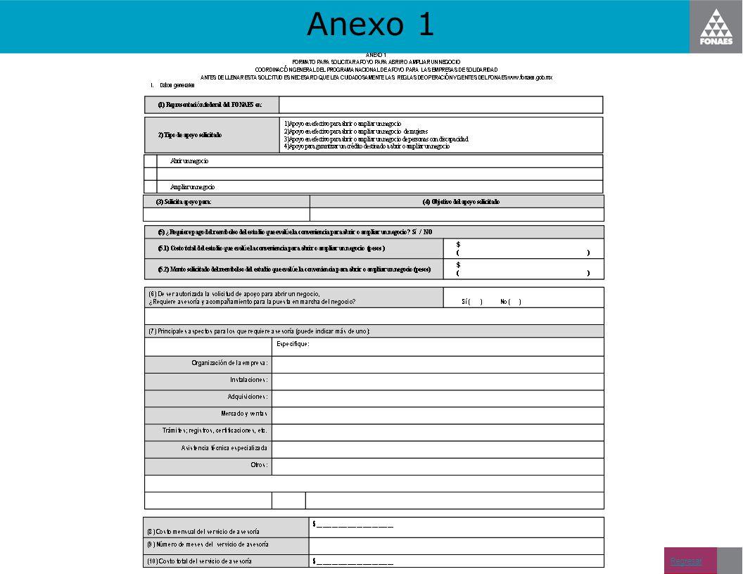 Anexo 1 Regresar