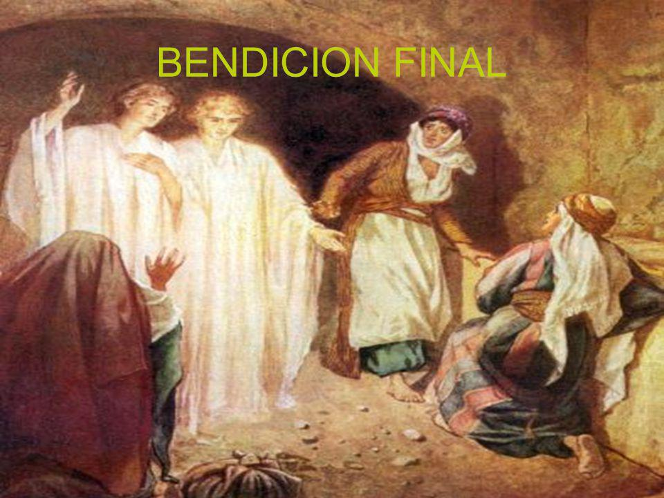 BENDICION FINAL