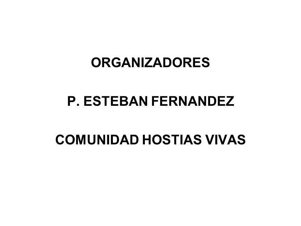 COMUNIDAD HOSTIAS VIVAS