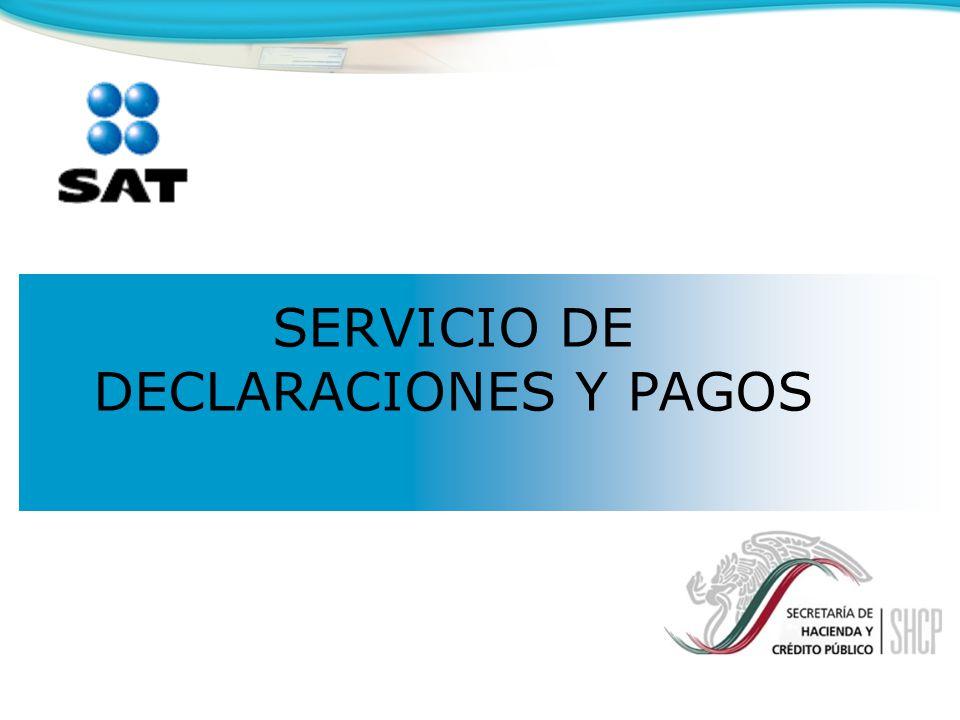 SERVICIO DE DECLARACIONES Y PAGOS