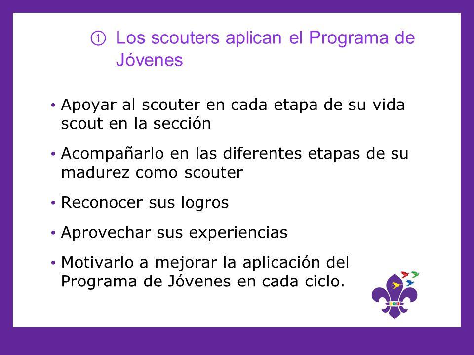 Los scouters aplican el Programa de Jóvenes