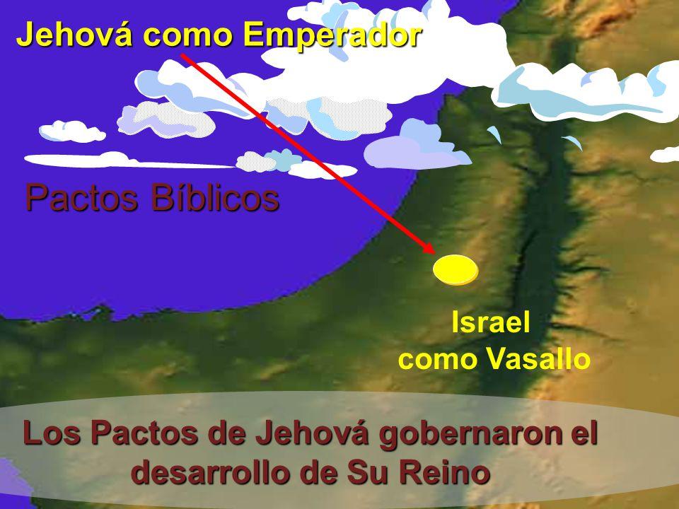 Los Pactos de Jehová gobernaron el desarrollo de Su Reino
