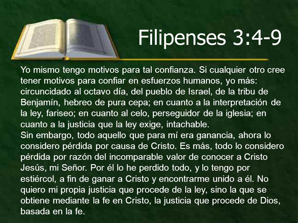 Filipenses 3:4-9