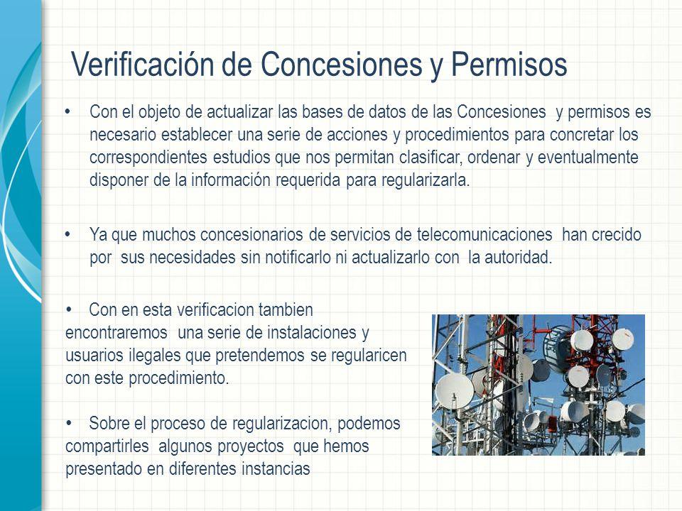 Verificación de Concesiones y Permisos