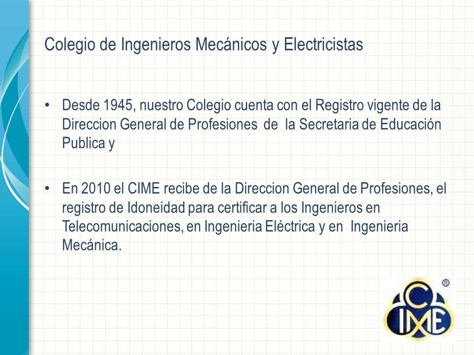Colegio de Ingenieros Mecánicos y Electricistas